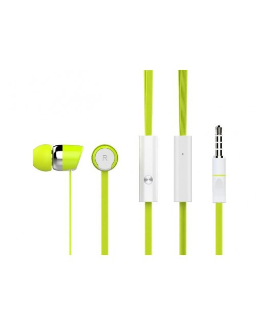 CELEBRAT Ακουστικά Handsfree R20-GN, On-Off, Green