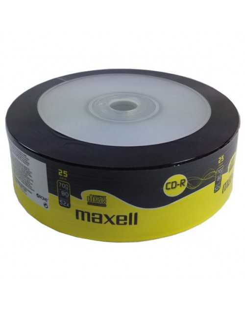 MAXELL CD-R 80min 700mb 52x 25 Τεμάχια