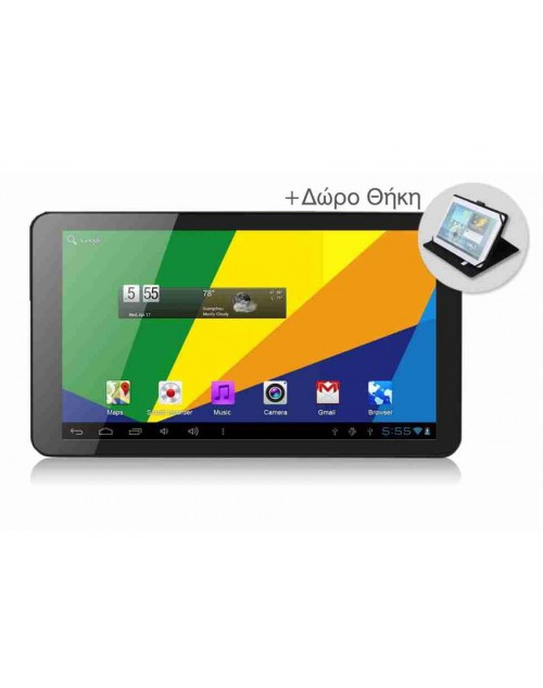 Powertech Tablet PC 10.1 inch, Quad Core, Dual cam, DDR3 - 1GB, HDD - 8GB
